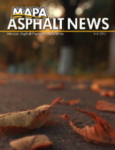 MAPA Fall 2015 Newsletter Cover